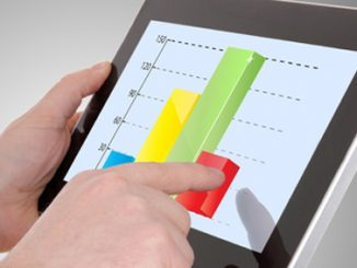 growth,tablet,charts