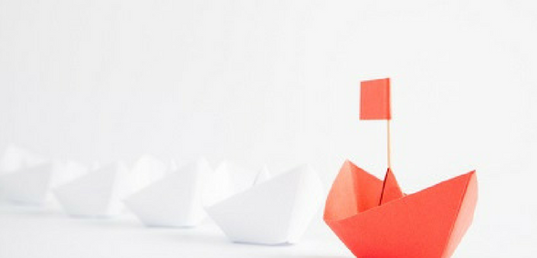 Leadership paperboats
