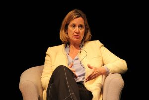 The ex Home Secretary spoke frankly at Benenden about her experiences