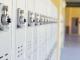 Corridor, lockers