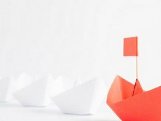 Leadership paperboats
