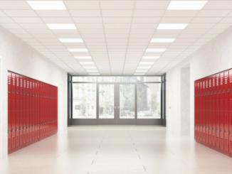 corridor red