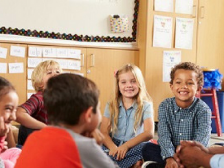 classroom, teacher, engaged