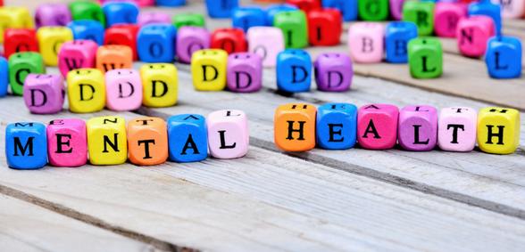 Mental health multi colour